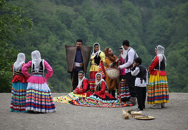 Гулябаны - дикие лесные люди Ирана и Азербайджана