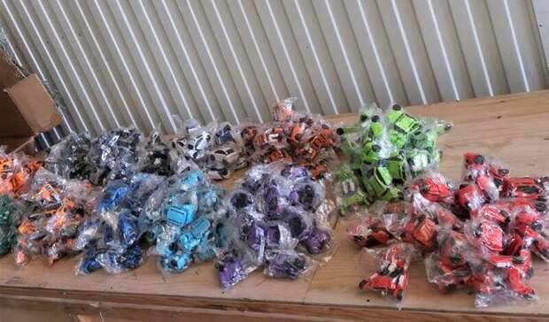 ВВолгограде таможенники арестовали 10 тысяч игрушек