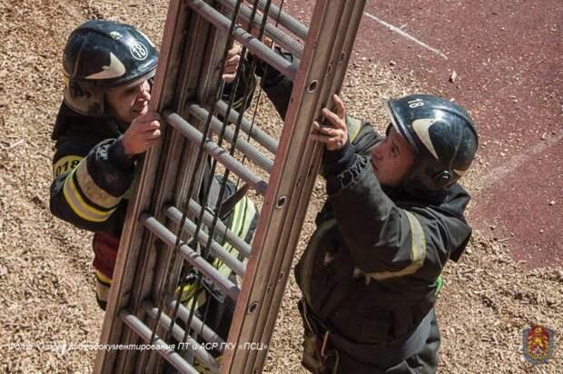 Спорт/ Департамент по делам гражданской обороны, чрезвычайным ситуациям и пожарной безопасности города Москвы