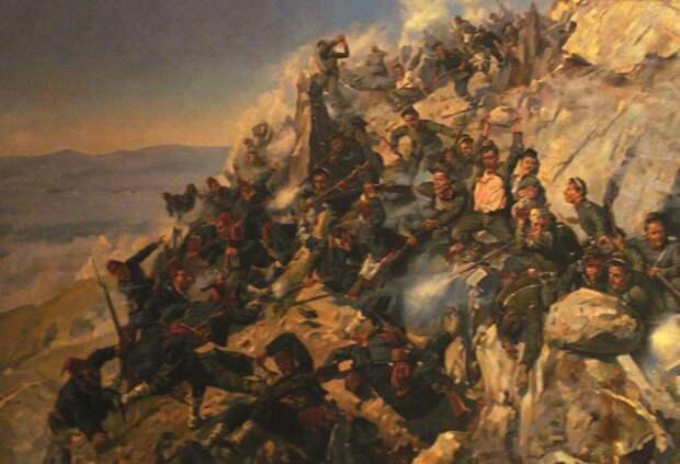 Оборона Шипкинского перевала.