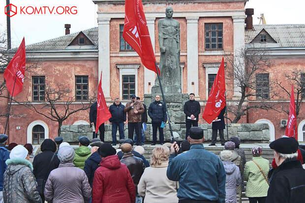 Коммунисты Феодосии требуют установить стелу