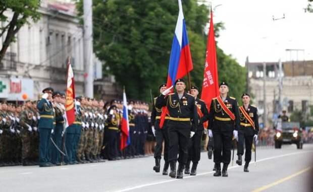 Как прошёл Парад Победы в Симферополе