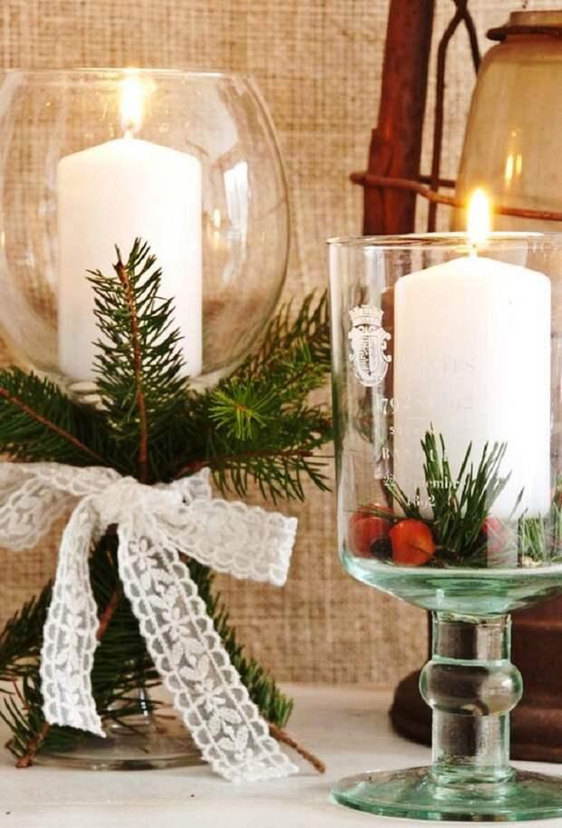 идеи декора для нового года