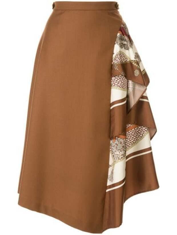 Из шарфов и платков переделка блузки