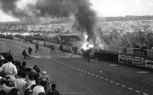 Самая массовая авария на гонках - более сотни унесенных жизней
