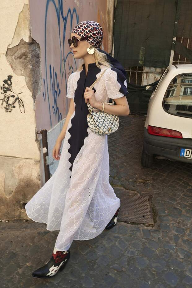 Street Style в пол (подборка)