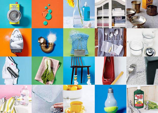 20 маленьких хитростей для чистоты вдоме