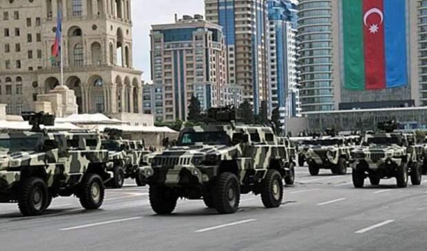 В Азербайджане на части территории ввели военное положение и комендантский час