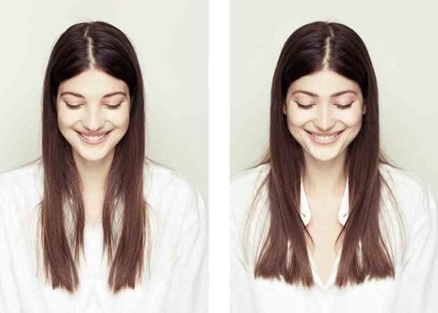 Как выглядят идеально симметричные лица