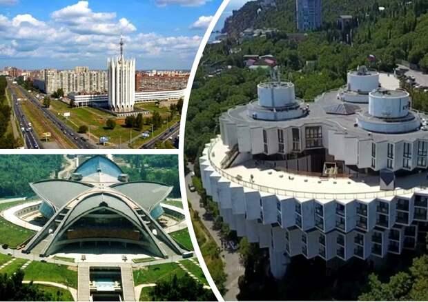 На грани безумства и величия: Футуристические здания советской эпохи