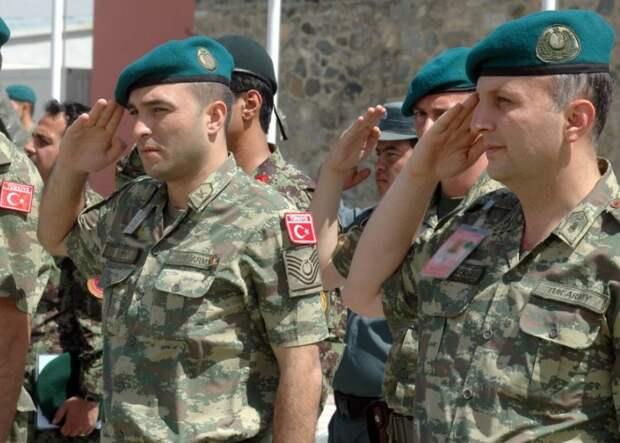 Турецкая армия готовится к переброске в Нагорный Карабах