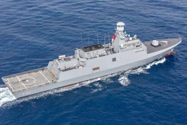Киев изменил план строительства турецких корветов для ВМС Украины