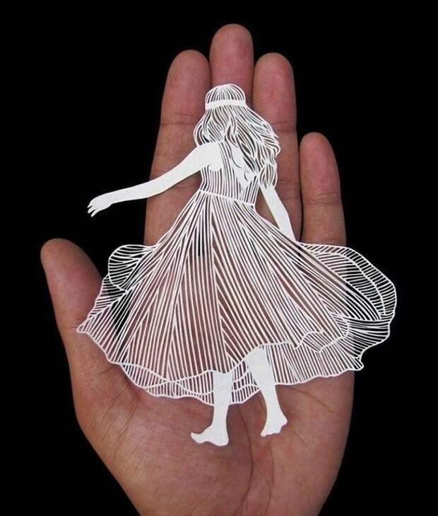 Искусство вырезания из бумаги. Волшебство!