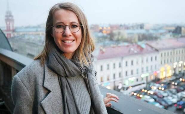 На фото: телеведущая Ксения Собчак