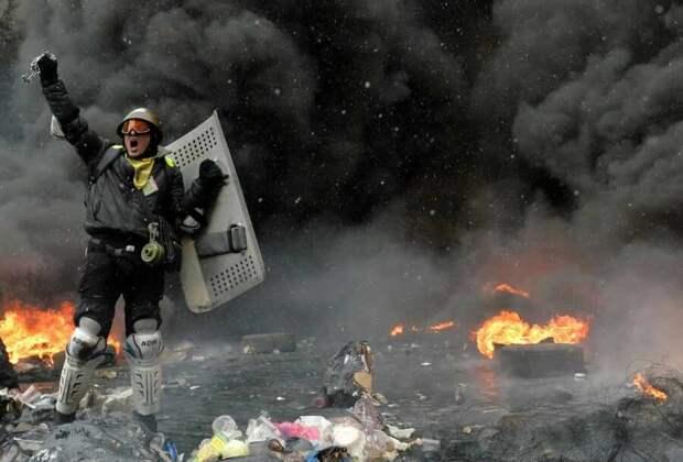 Украина на коленях