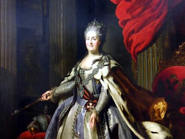 Екатерина II и ее «записки, касательно российской истории»