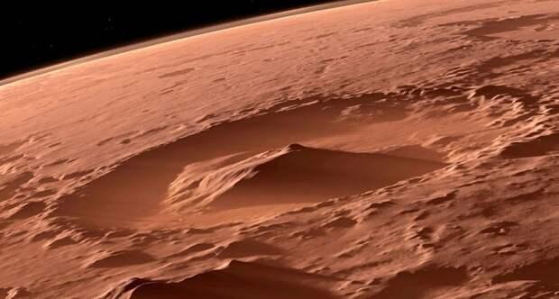 Уфолог нашел на поверхности Марса «древние чаши»