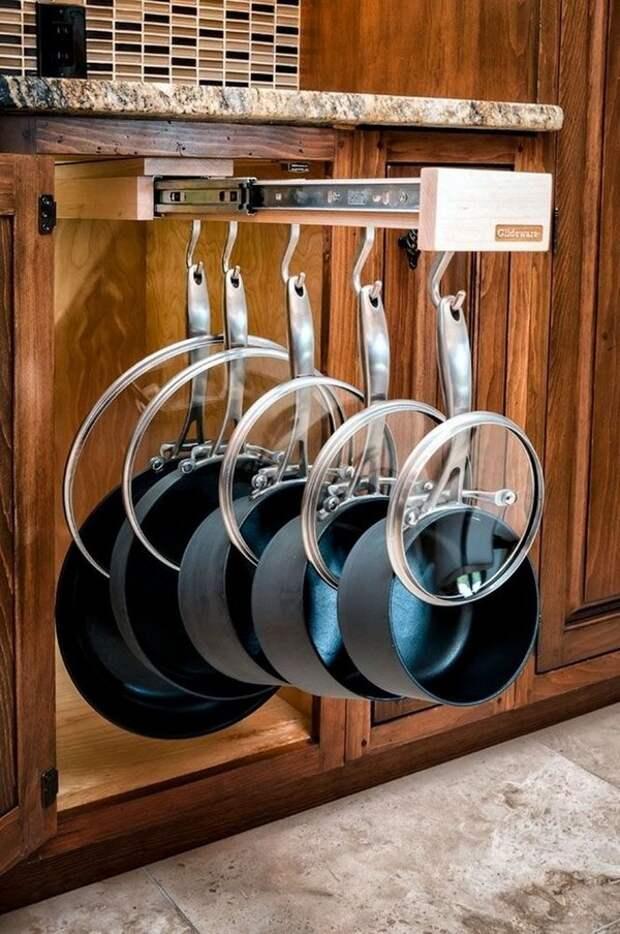 15 гениальных идей для удобной и практичной кухни