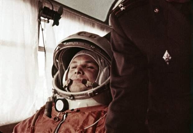 Юрий Гагарин, 1961 год. Фото: ИТАР-ТАСС Подробнее: https://www.m24.ru/articles/kosmos/09042014/42144?utm_source=CopyBuf