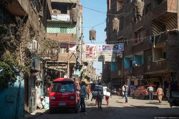 Город мусорщиков египет, каир, мусор