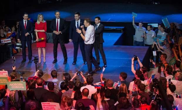 Команда либералов обделалась: Яшин слил, Навальный проговорился, Гудков спалился