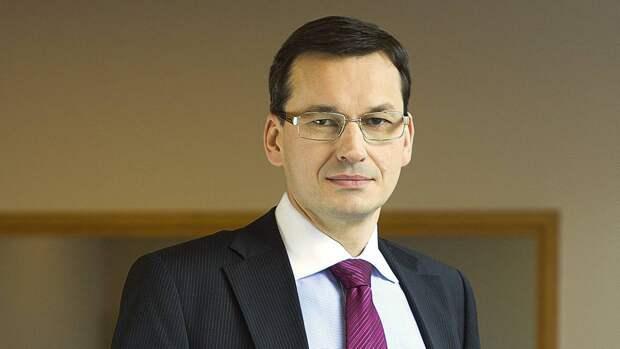 Польский премьер Моравецкий сравнил с «пистолетом у виска» отказ от судебной реформы
