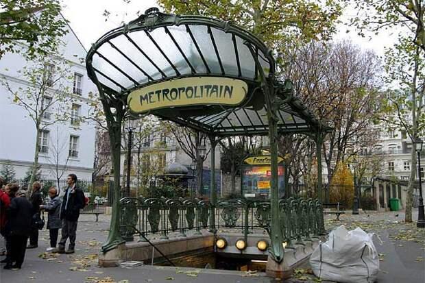 Парижское метро-наследие ушедшей цивилизации