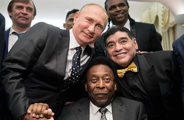 Марадона: «Я доверяю Путину. Уверен, скоро в России появится вакцина от коронавируса»