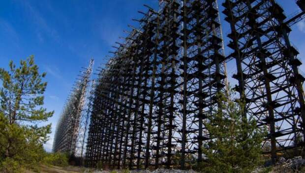 Чернобыльская радиолокационная станция.