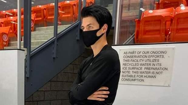 Американский фигурист Паниот о ношении маски на тренировках: «Грязно, слюни на лице. Начинает тошнить от этого»