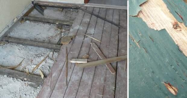 Посмотри, во что он превратил старый пол в своей квартире. когда узнал, как это сделано, ахнул!