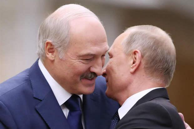 О шантаже и блефе Путина и Лукашенко
