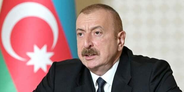 Алиев отметил роль Путина в решении конфликта в Карабахе