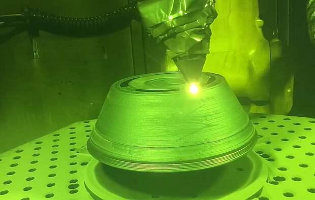 В России впервые показали производство гиперзвуковых ракет уникальной лазерной установкой