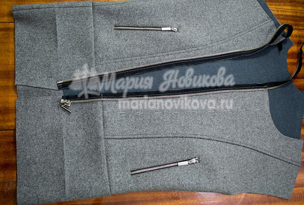 Куртка косуха с притачным поясом