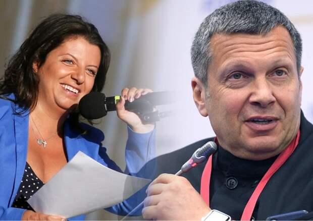 Симоньян призывает закрыть Youtube в России, если канал Соловьёва будет заблокирован