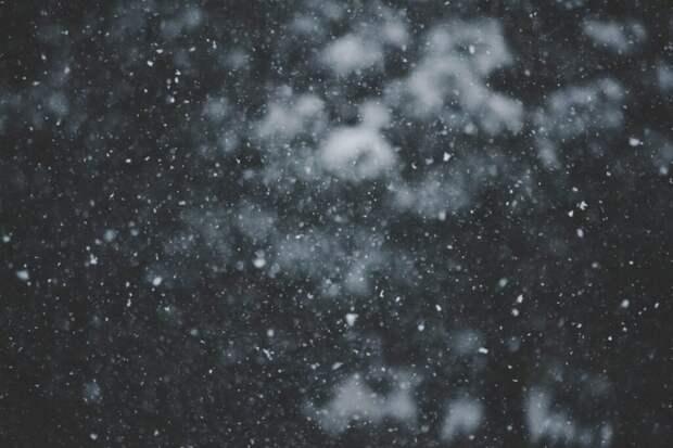 """В Краснодарском крае выпал снег и """"наступила зима"""" (видео)"""