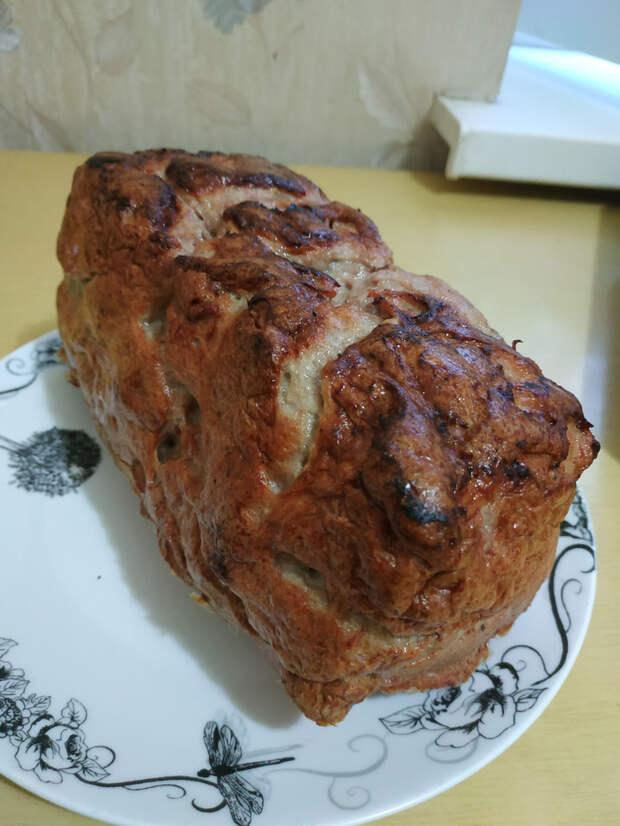 Мясной хлеб. Почти по ГОСТу 23670. Колбаса, Домашняя колбаса, Мясо, Кулинария, Мужик на кухне, Длиннопост, Видео