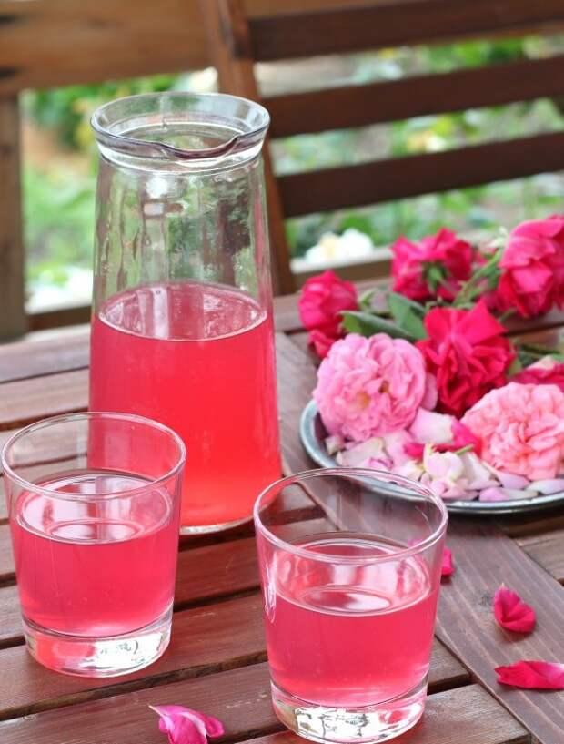 Как сделать лимонад из роз