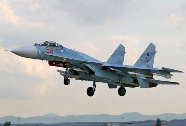 Более 50 самолетов российских ВВС примут участие вучениях над Черным морем
