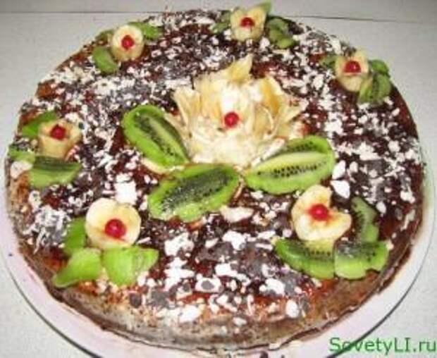 Пирог — Банановый рай