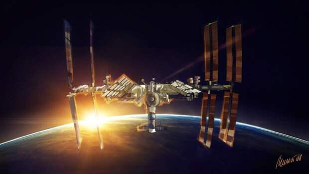 Три астронавта успешно вернулись с МКС на Землю