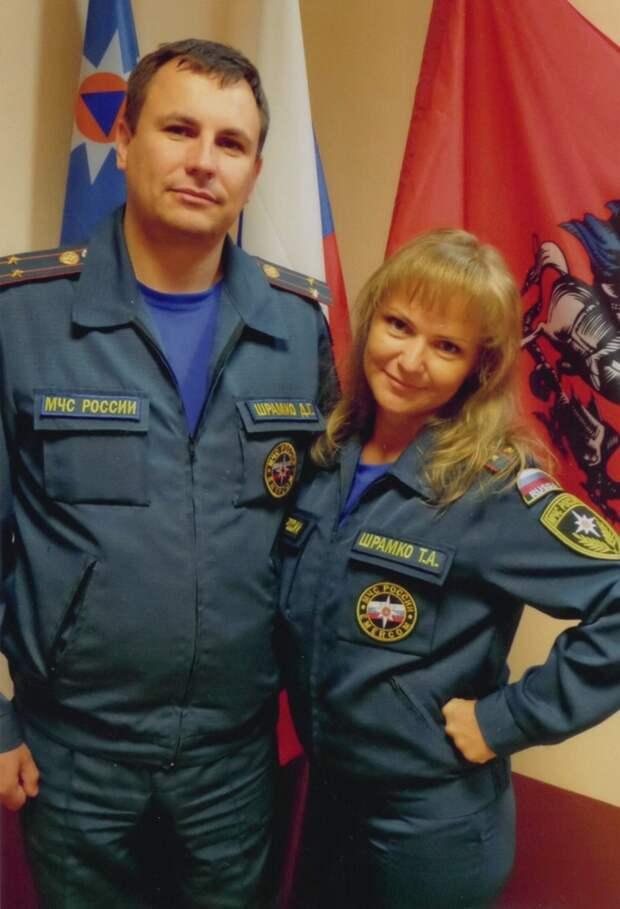 Семья Шрамко / Фото: Пресс-служба МЧС по ЮВАО