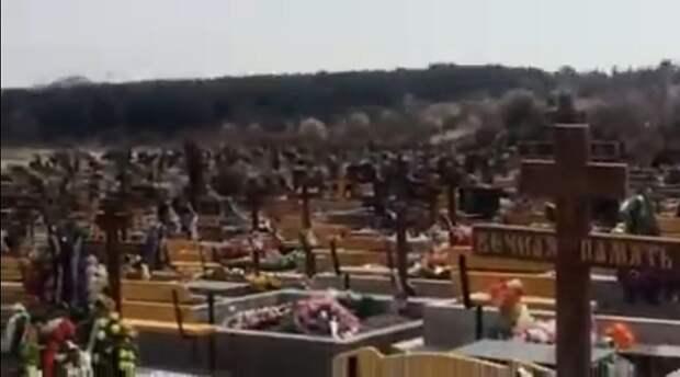 Осквернены две сотни могил на кладбище в Севастополе