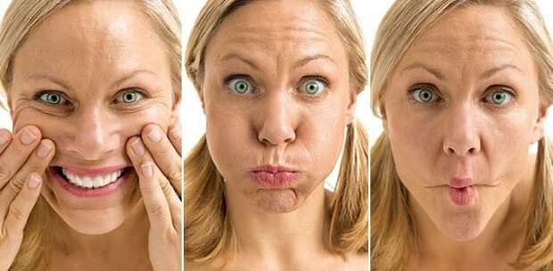 как убрать толстые щеки - упражнения с фото