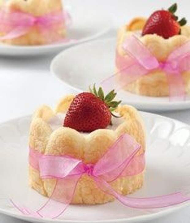 Торты и пирожные с савоярди