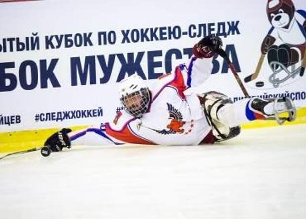 Подмосковный «Феникс» завоевал «Кубок Мужества» по следж-хоккею