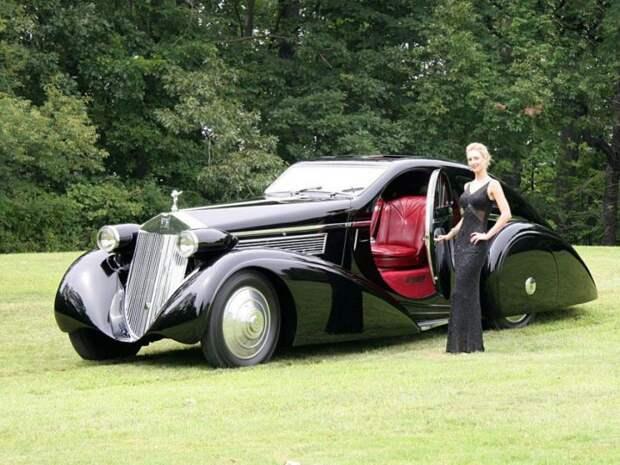 Самое сексуальное авто вмире: уникальный Rolls Royce Phantom
