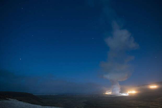США выпустили баллистическую ракету по острову в Тихом океане