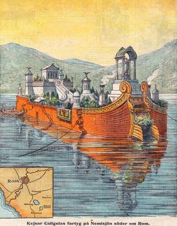 Так выглядели корабли по мнению современных исследователей.